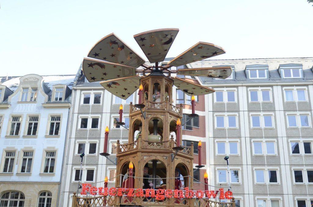 Leipzig - Christmas pyramid.