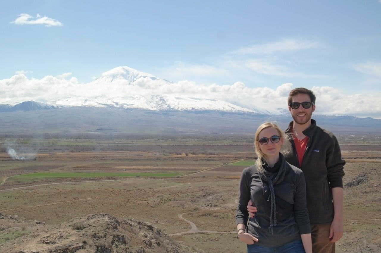Mt. Ararat - Tom and Jasmin.