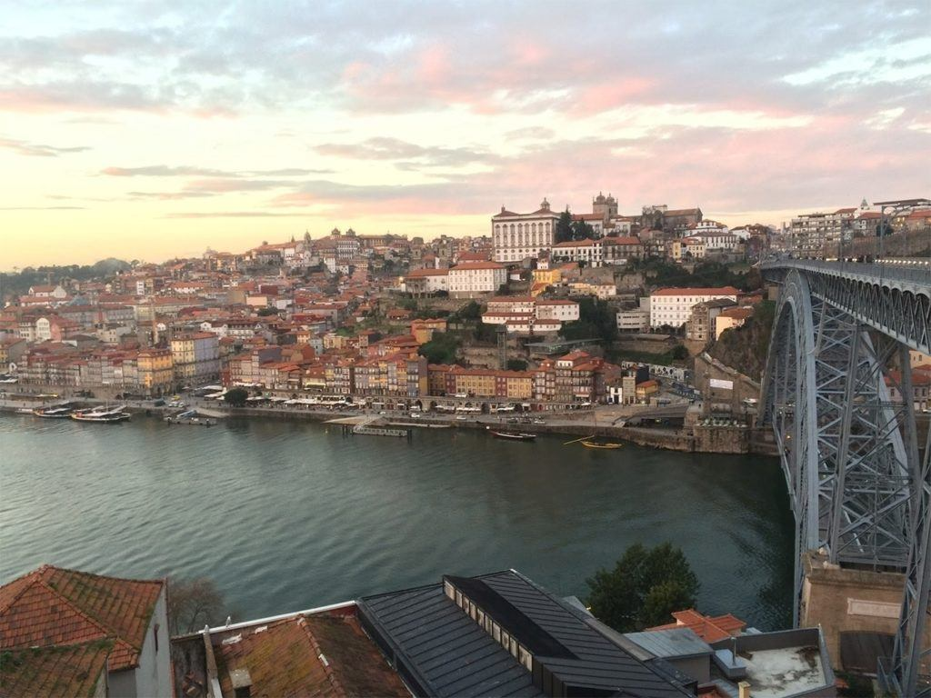 Porto bridge, Portugal.