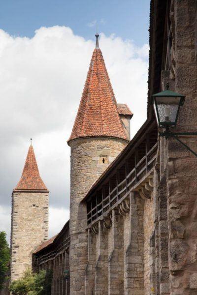 Rothenburg walls.