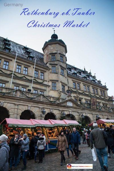 Rothenburg Christmas Market is the most charming in all of Germany!