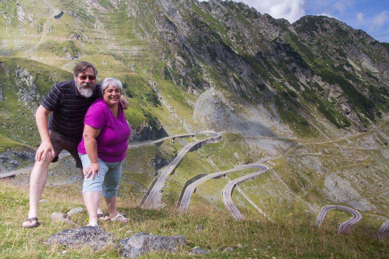 Jim and Corinne traveling through Eastern Europe.