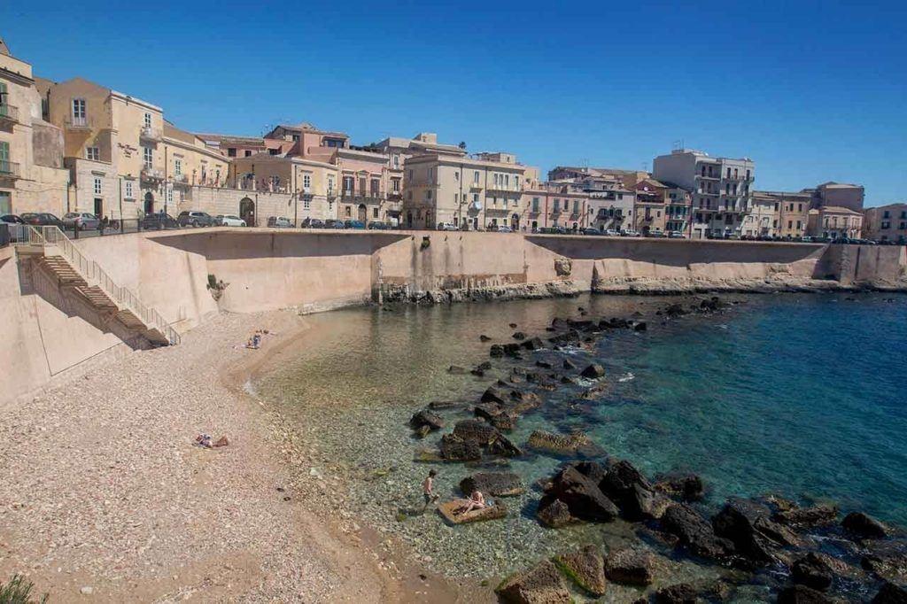 Ortigia Beach, Sicily.