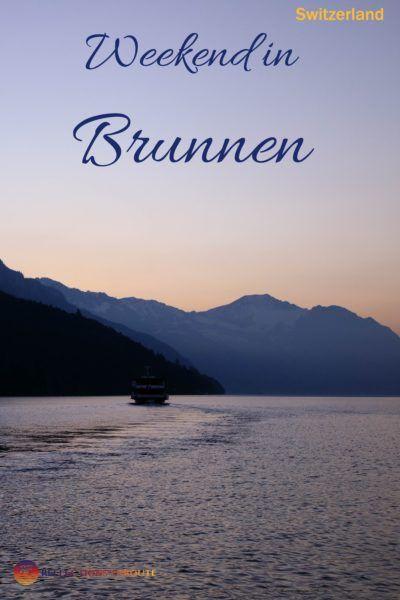 Ready for a fantastic weekend in Brunnen, Switzerland?