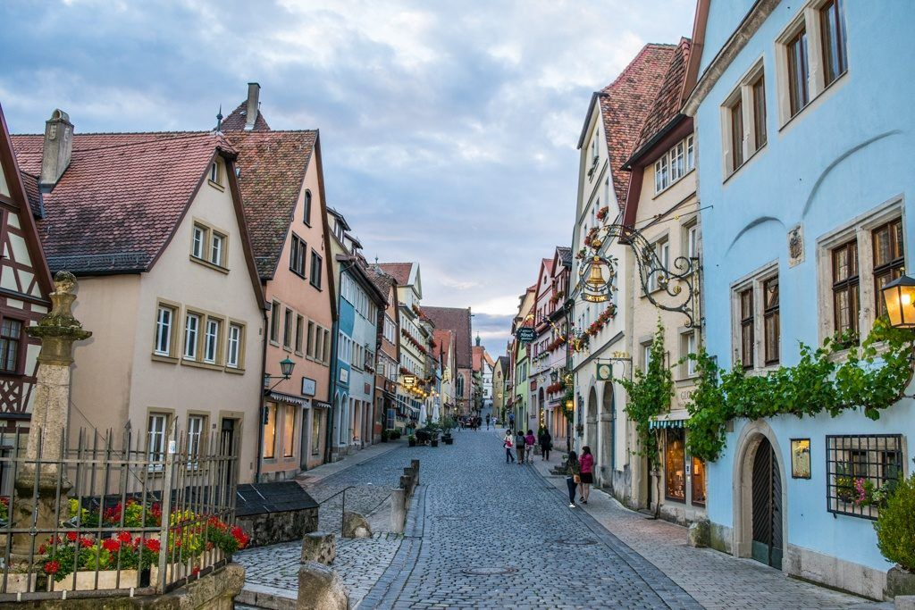 Rothenburg ob Tauber is a great place to visit in Autumn.