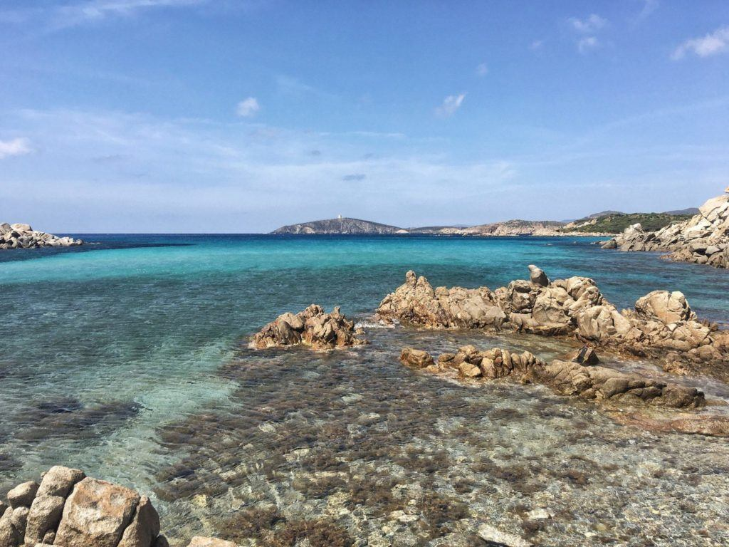 Crystal clear blue waters on the island of Sardinia!