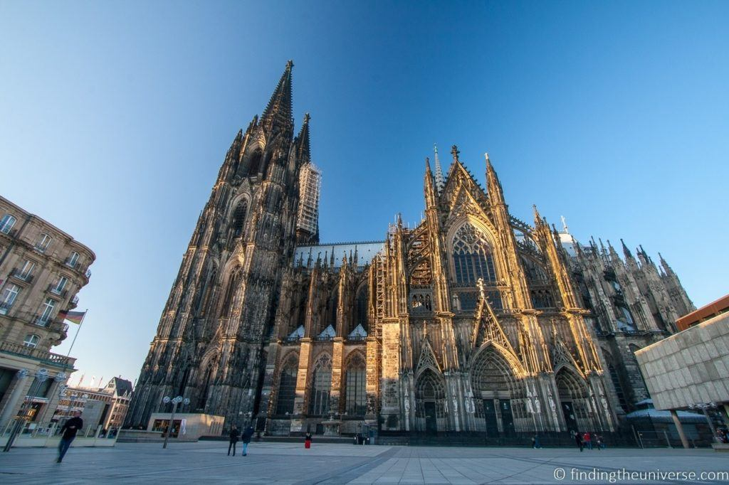 The Dom Platz in front of the Cologne cathedral.