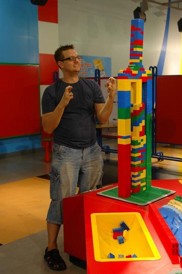 Chris, lego master.