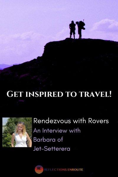 Rendezvous with Barbara.