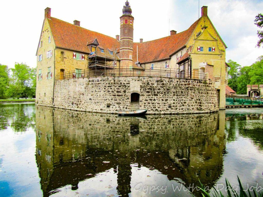 Water Castle in North Rhine Westphalia.