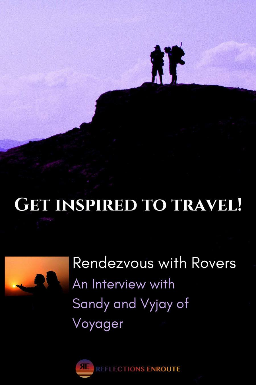 Rendezvous with Vyjay and Sandy.