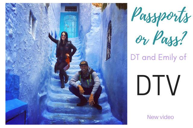 Passports or Pass Travel Game Show With DTV