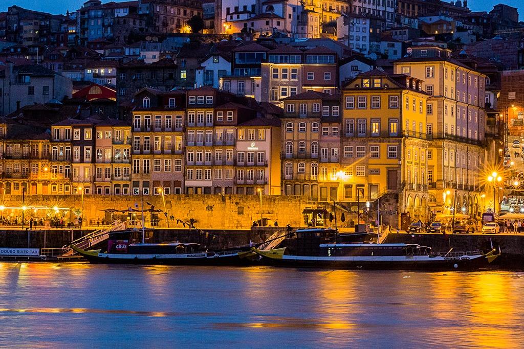 River through Porto, Portugal.