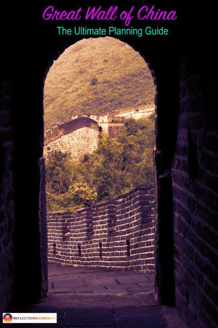 China Bucket List - The Great Wall - You've got to go!