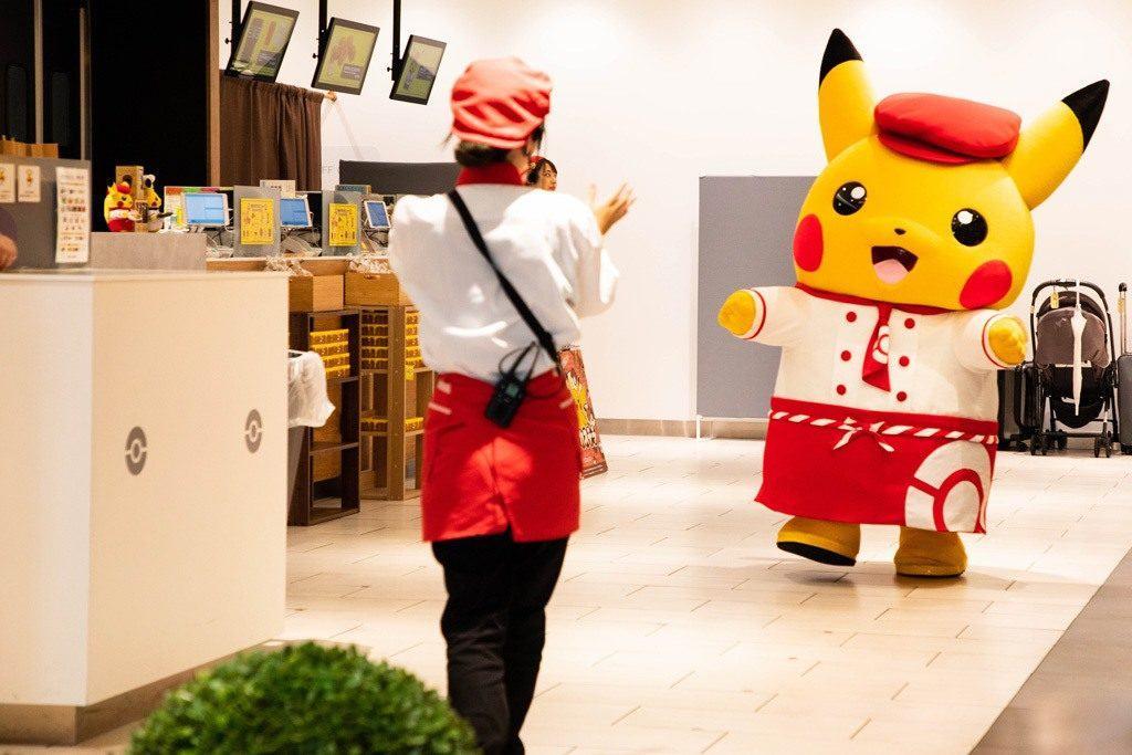 Pikachu is coming!