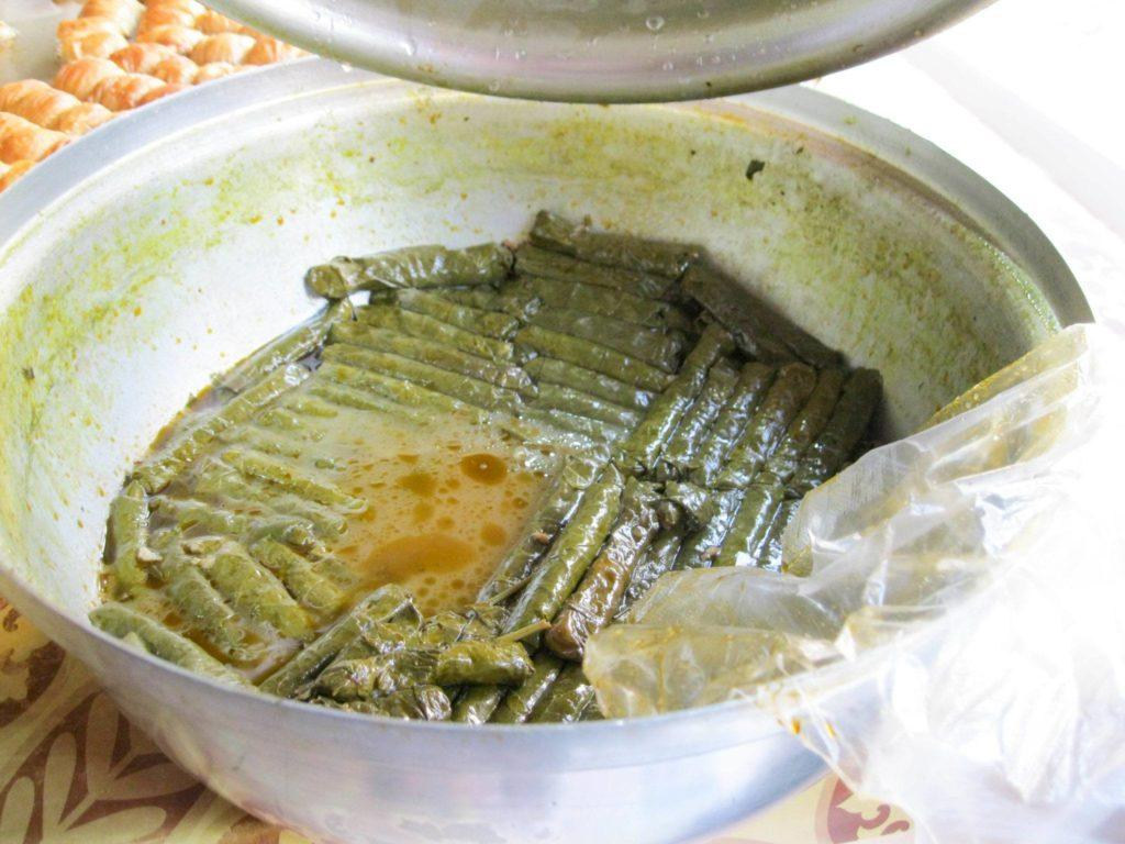 Vegetarian Turkish food like  this Sarma can be found in some restaurants and it's one of many great Turkish dishes.