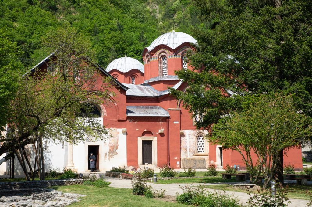 Exterior and Grounds of Patriarchate of Peć Monastery.