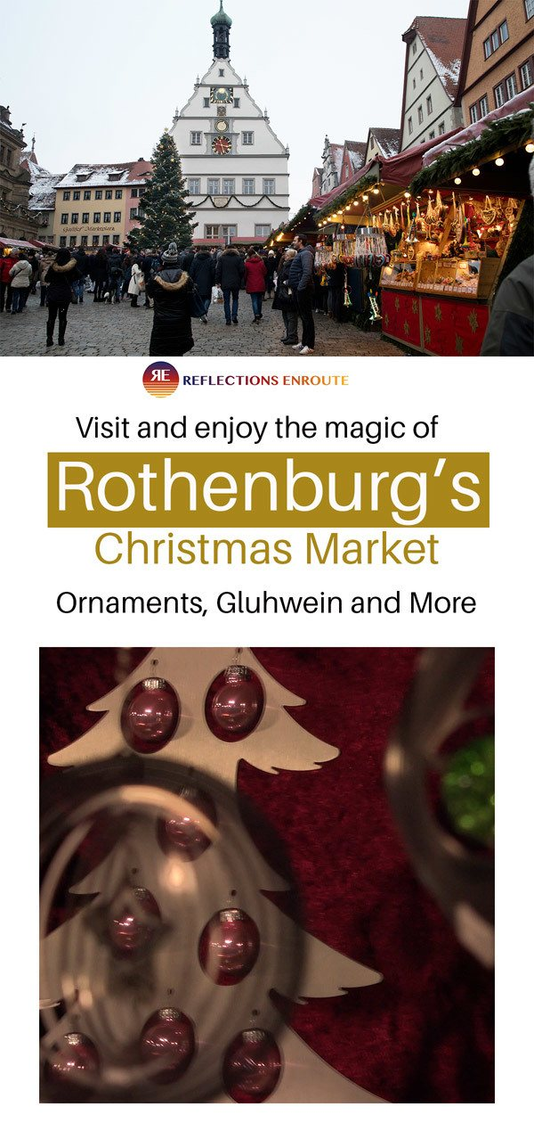 Rothenburg Christmas Market is the most magical Christmas markets in all of Germany!