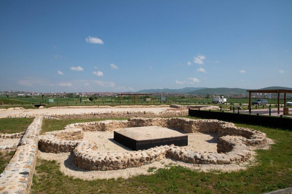 Who knew Kosovo trip would include Roman ruins?Church Foundations of Roman Site Ulpina.