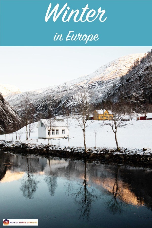 Winter in Europe? Mountains and snow and Christmas markets make it the most magical time of the year to visit!