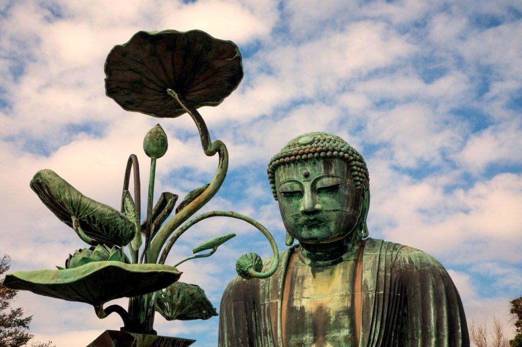 Grand Buddha in Kamakura.