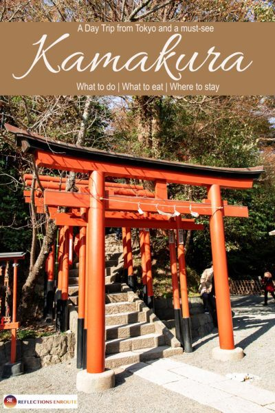 Kamakura, the city of the Big Buddha and old Japanese charm, and a fantastic surfer's beach!