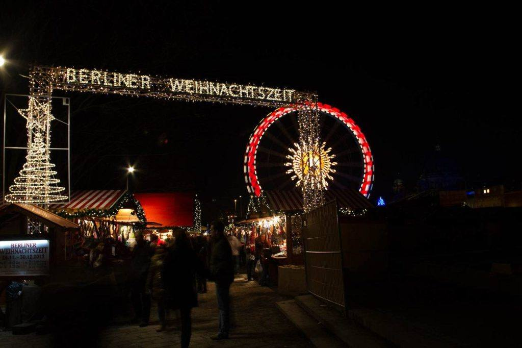 Berlin in winter! The Berlin Christmas market is in full swing all of December, and it's a blast. Ride the ferris wheel, drink some mulled wine, and buy some souvenirs. It's all here.