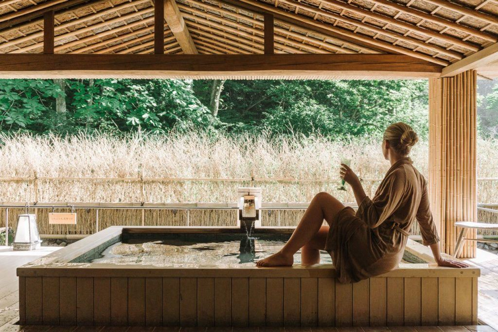 Kinosaki Onsen is one of the best hotels in Japan.