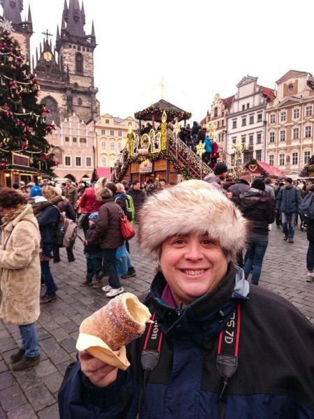 If you are visiting Prague in winter, don't miss its iconic Christmas market!