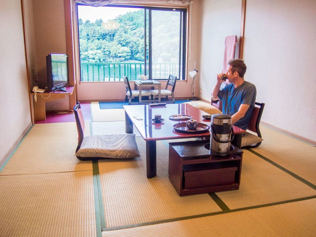 Looking for a hotel in Hakone? Try the Musahiya.