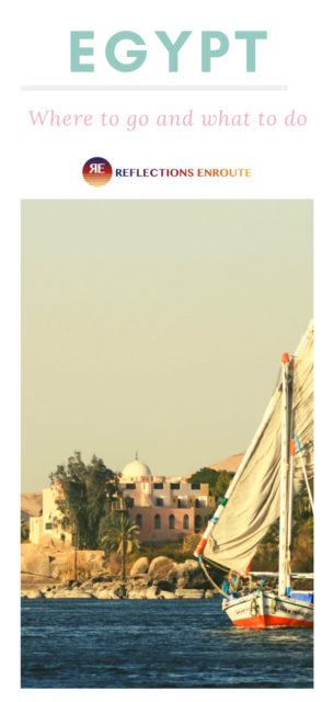 Egyptian felucca on the Nile river.