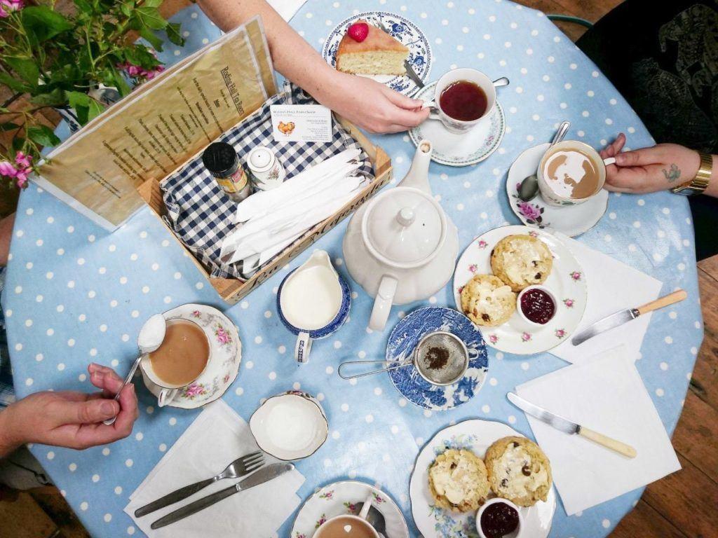 Best British food, tea of course.
