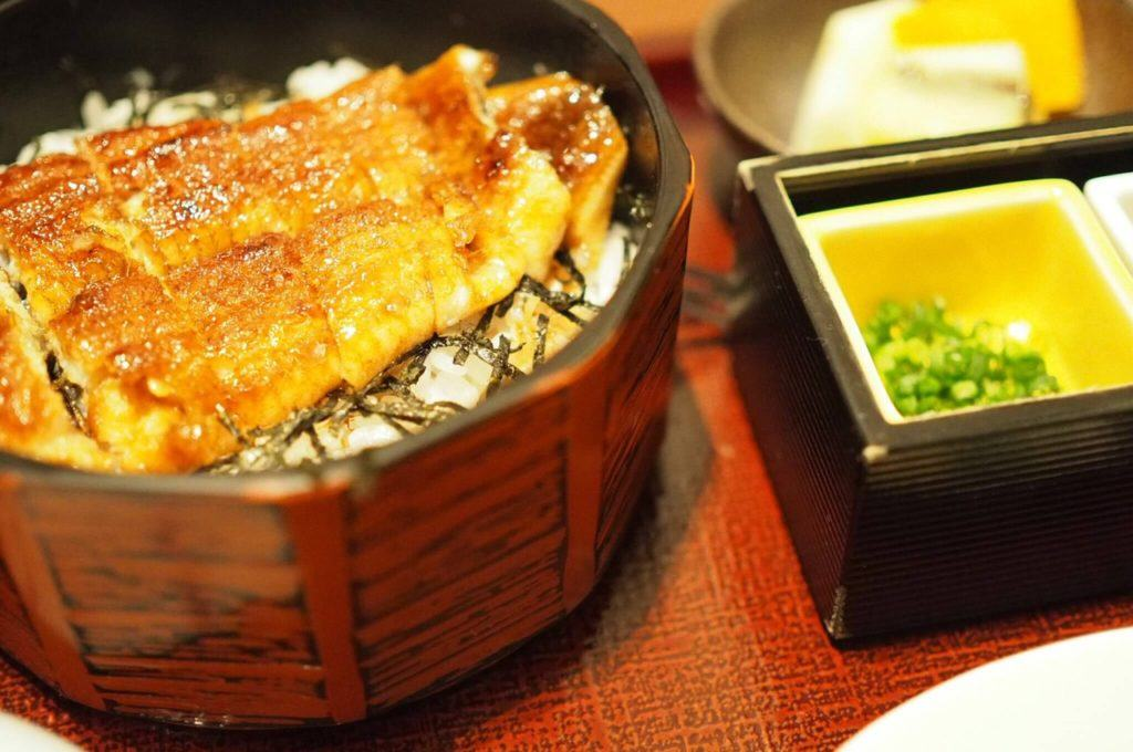 Summer season in Japan means eating Unagi!