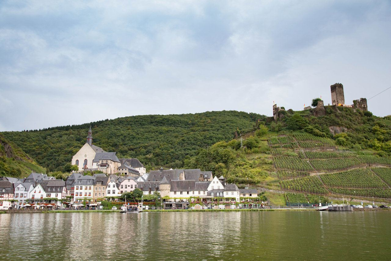 Mosel River Cruise - Castle overlooking the river
