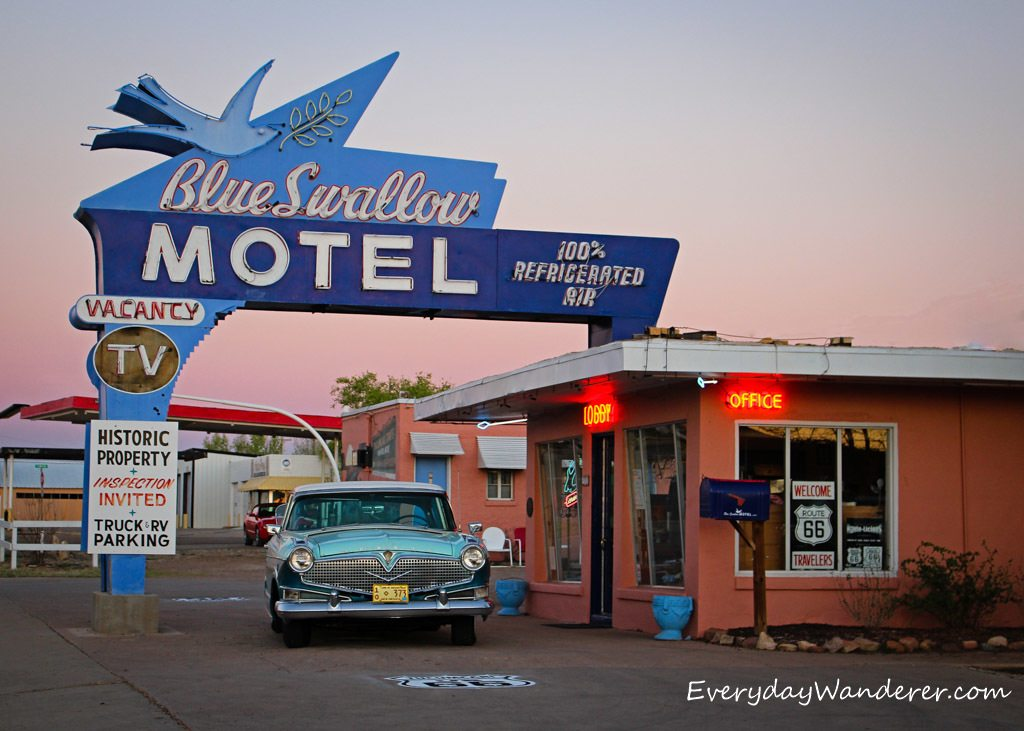 Blue Swallow Motel by Everyday Wanderer