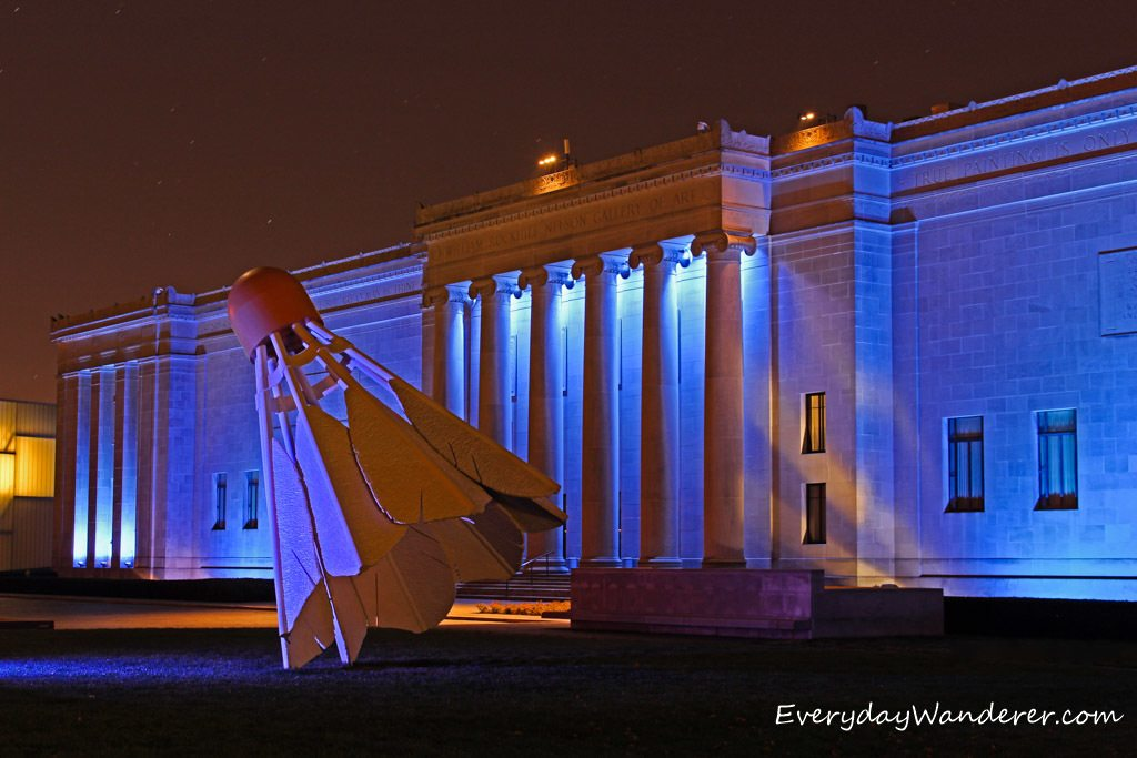 Nelson Atkins at Night by Everyday Wanderer