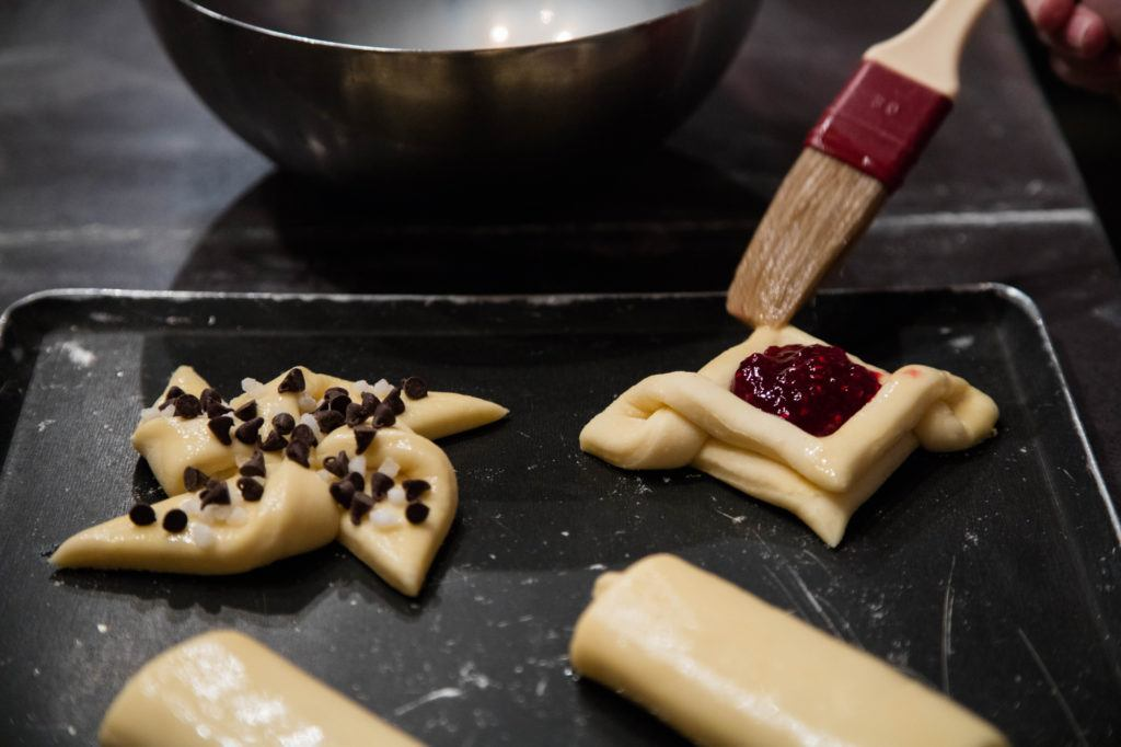 Same pastry dough, different pastries to make, are some of the tips and tricks we learned at our cooking class in Paris.