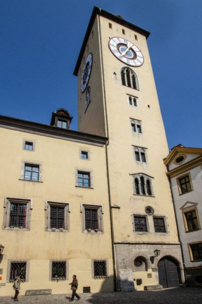 Clocktower in the Old Town.