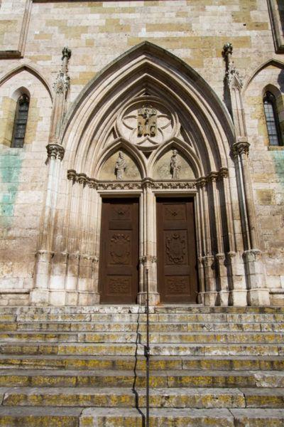 St. Peter's Cathedral door.