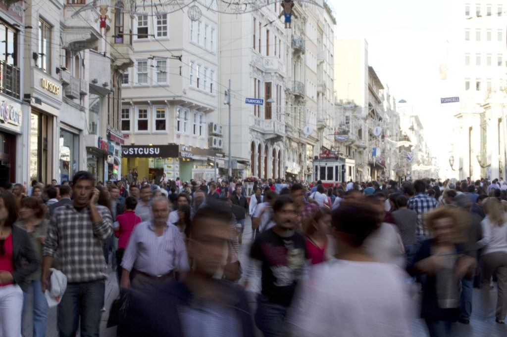 One of the busiest part of Istanbul, it's well worth a stroll down Istiklal Avenue.