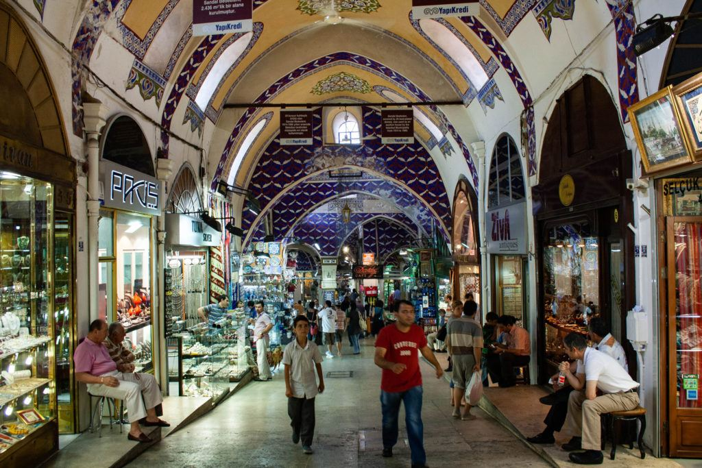 The Grand Bazaar is so big that it will take you a couple of trips before you get through all the amazing shops.