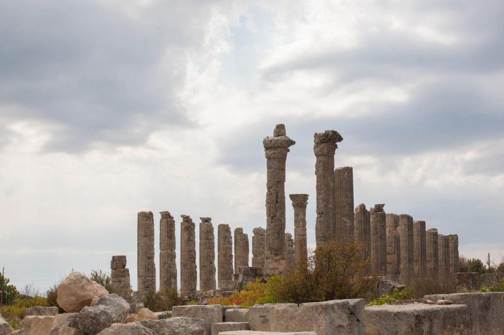 Temple of Zeus, Uzuncaburc, Turkey.