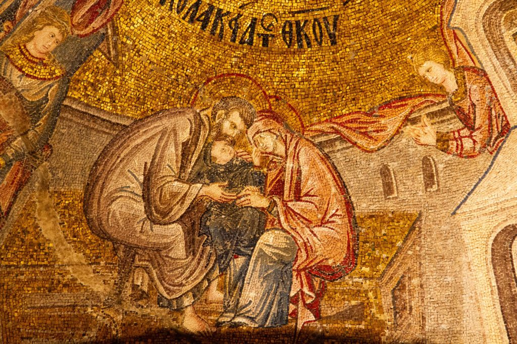 The Chora Church has a plethora of mosaics. It's a must-see when in Istanbul.