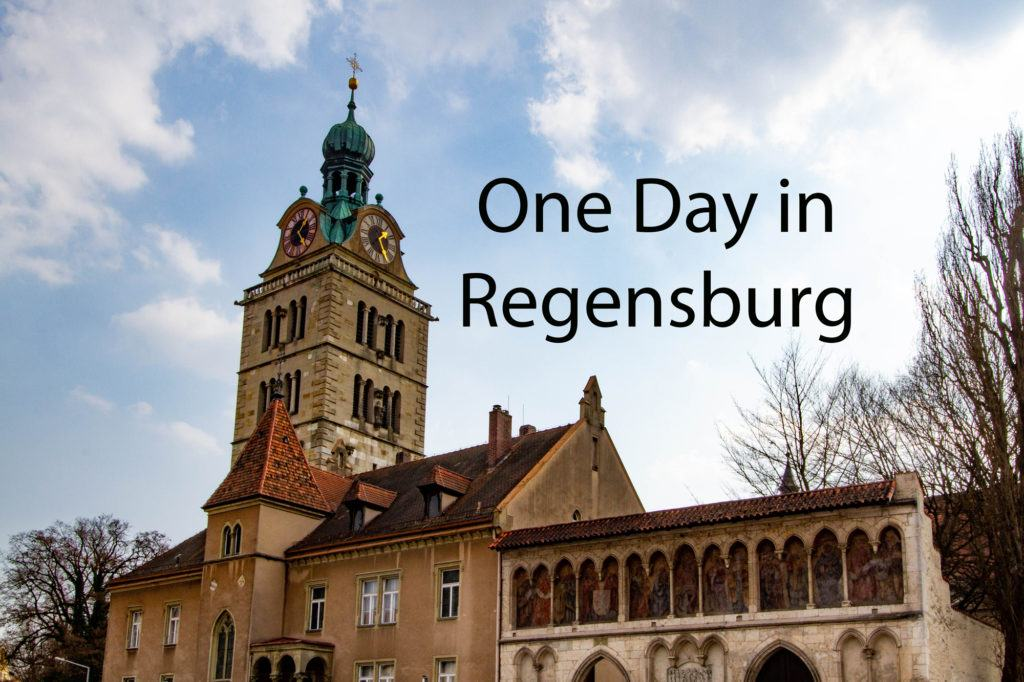 One Perfect Day in Regensburg.