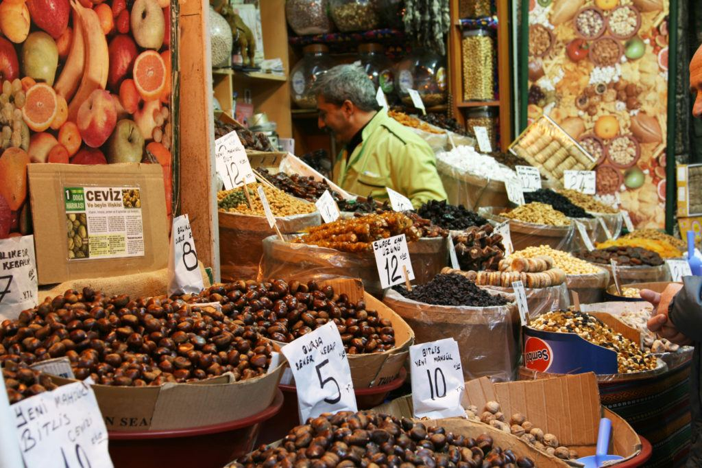 As you wander the isles of the Spice Bazaar, there are so many choices.