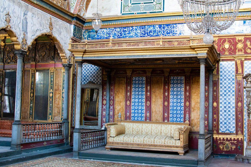 Top Kapi Palace Interior.