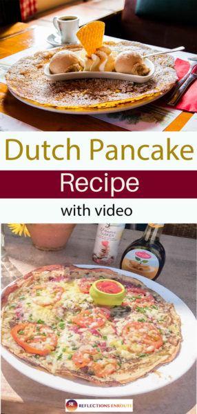 Dutch Pancake Recipe (vide) So Easy!