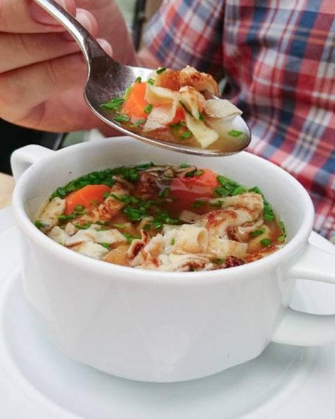 Hearty German soup.