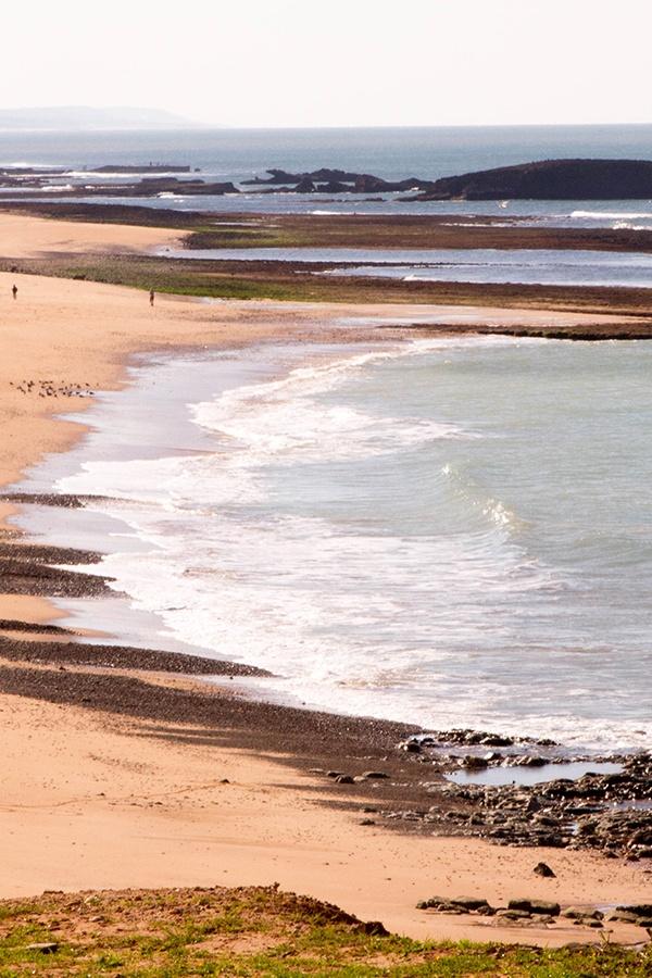 Gorgeous beach near El Jadida, Morocco.