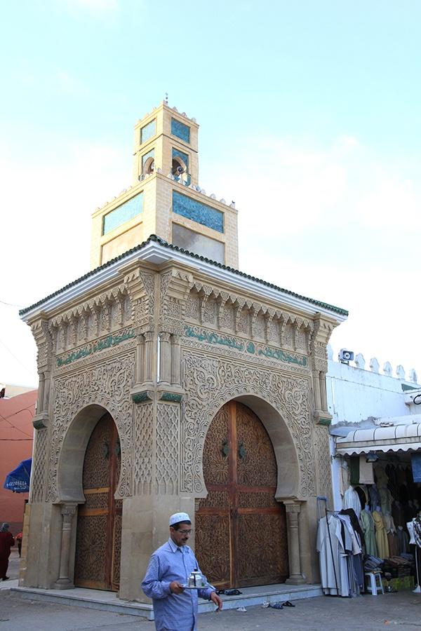 Mosque in the Medina in El Jadida, Morocco.